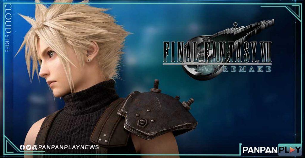 Wallpaper Cloud Super Keren Dalam Final Fantasy VII Remake